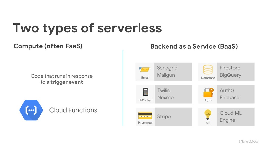@BretMcG Two types of serverless Stripe Payment...