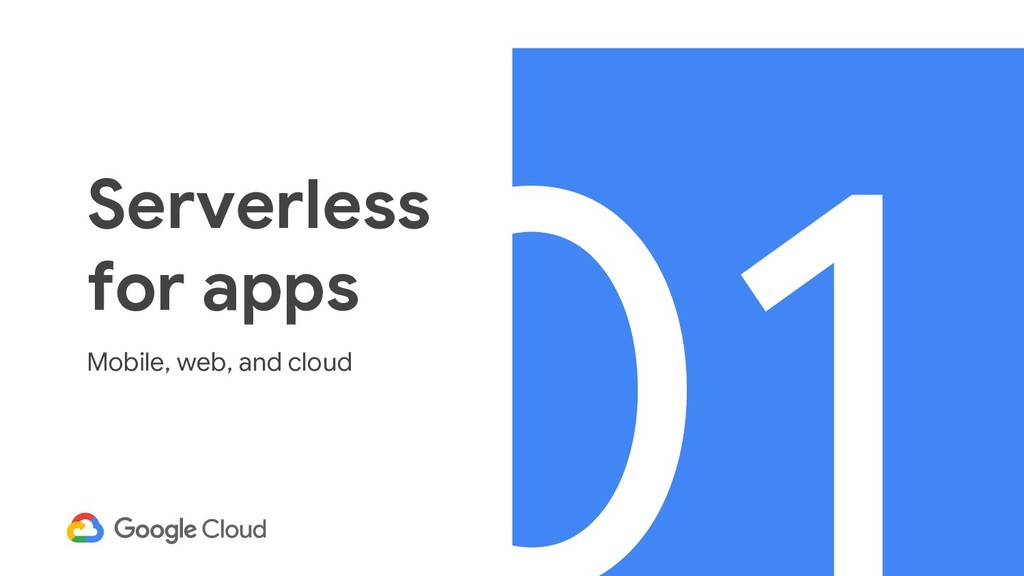 @BretMcG Serverless for apps Mobile, web, and c...