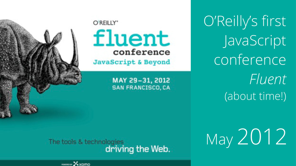 O'Reilly's first JavaScript conference Fluent (a...