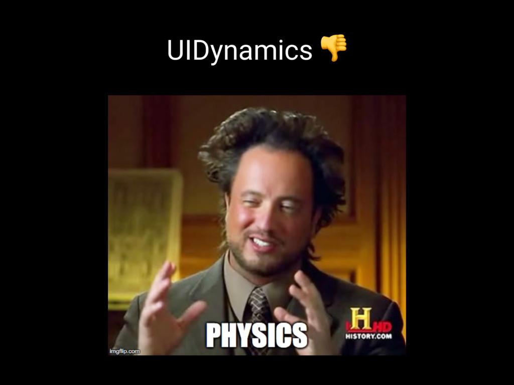 UIDynamics !