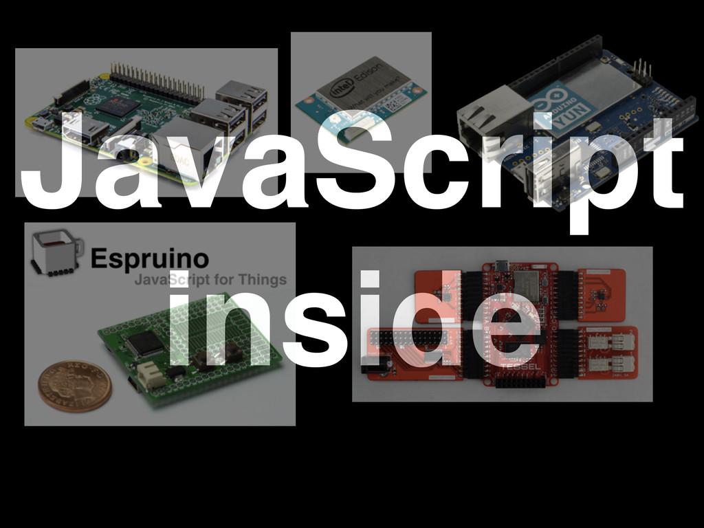 JavaScript! inside