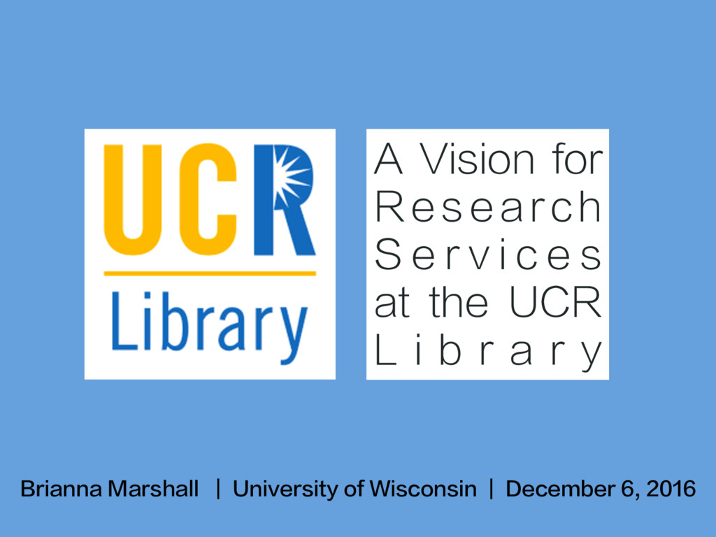 Brianna Marshall   University of Wisconsin   De...