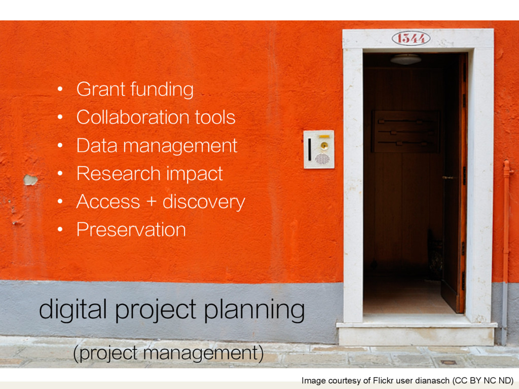 digital project planning Image courtesy of Flic...
