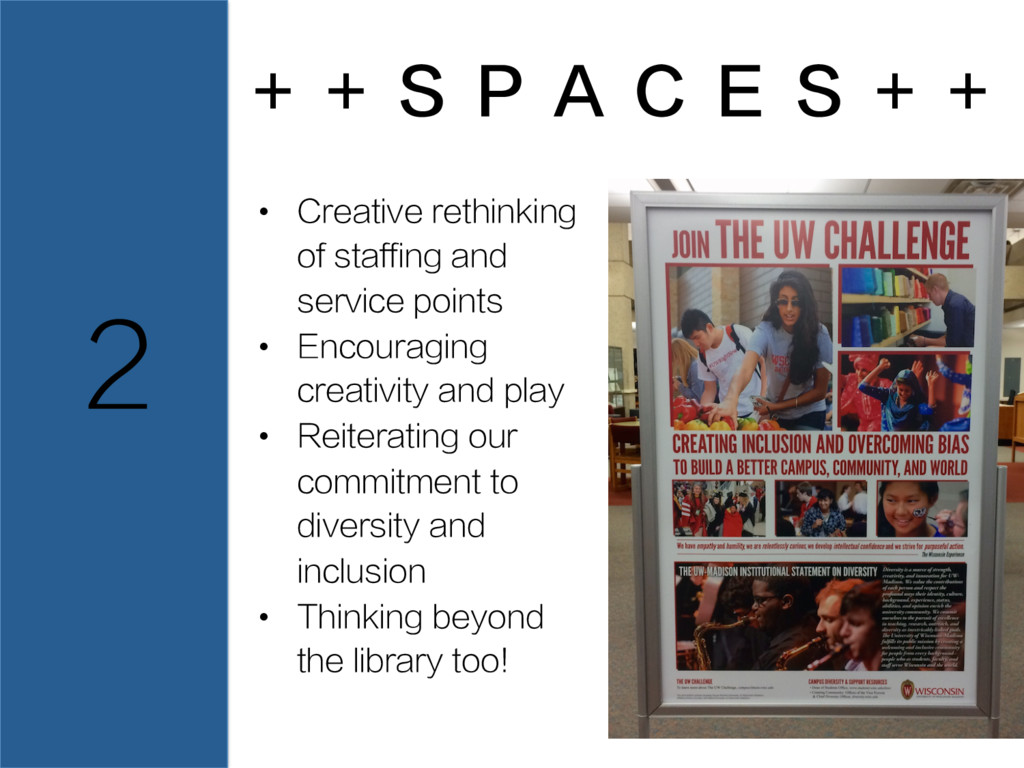 + + S P A C E S + + 2 • Creative rethinking of...
