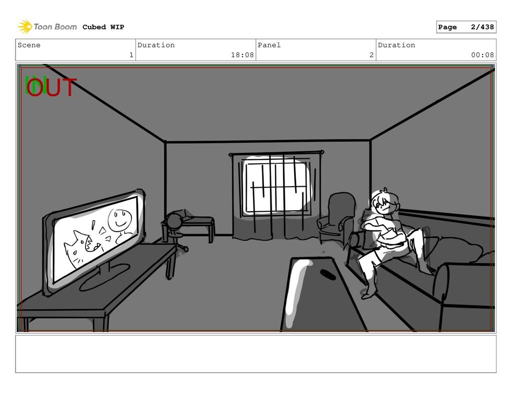 Scene 1 Duration 18:08 Panel 2 Duration 00:08 C...