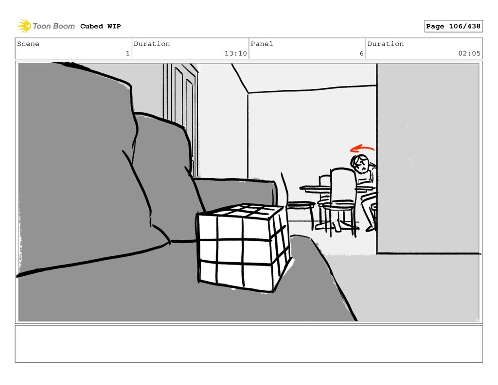 Scene 1 Duration 13:10 Panel 6 Duration 02:05 C...