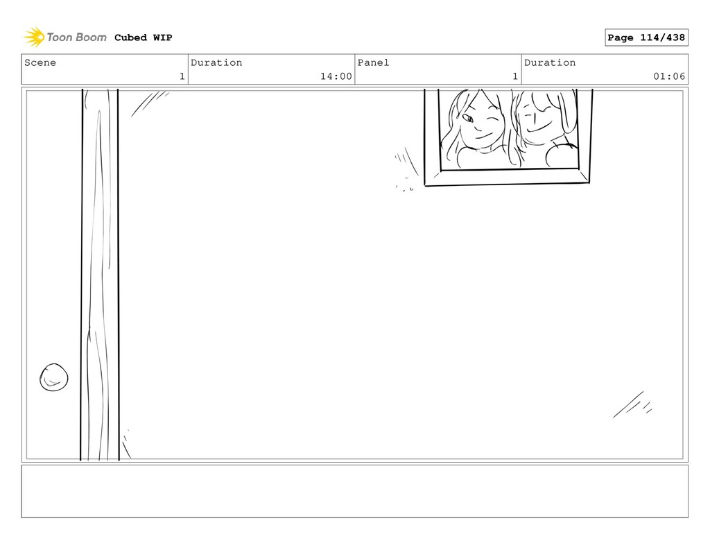 Scene 1 Duration 14:00 Panel 1 Duration 01:06 C...