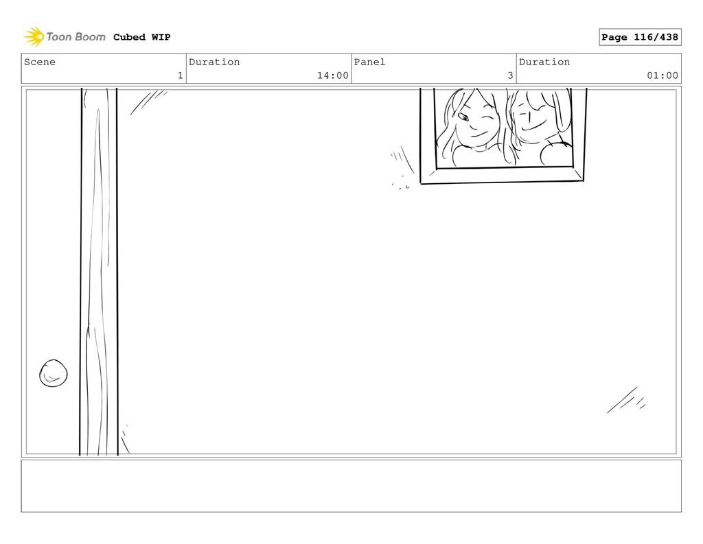 Scene 1 Duration 14:00 Panel 3 Duration 01:00 C...