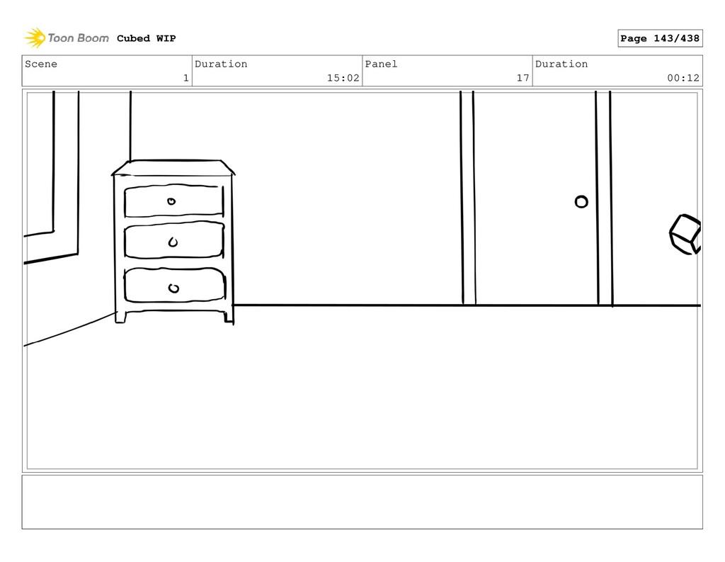 Scene 1 Duration 15:02 Panel 17 Duration 00:12 ...