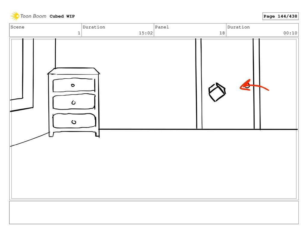 Scene 1 Duration 15:02 Panel 18 Duration 00:10 ...