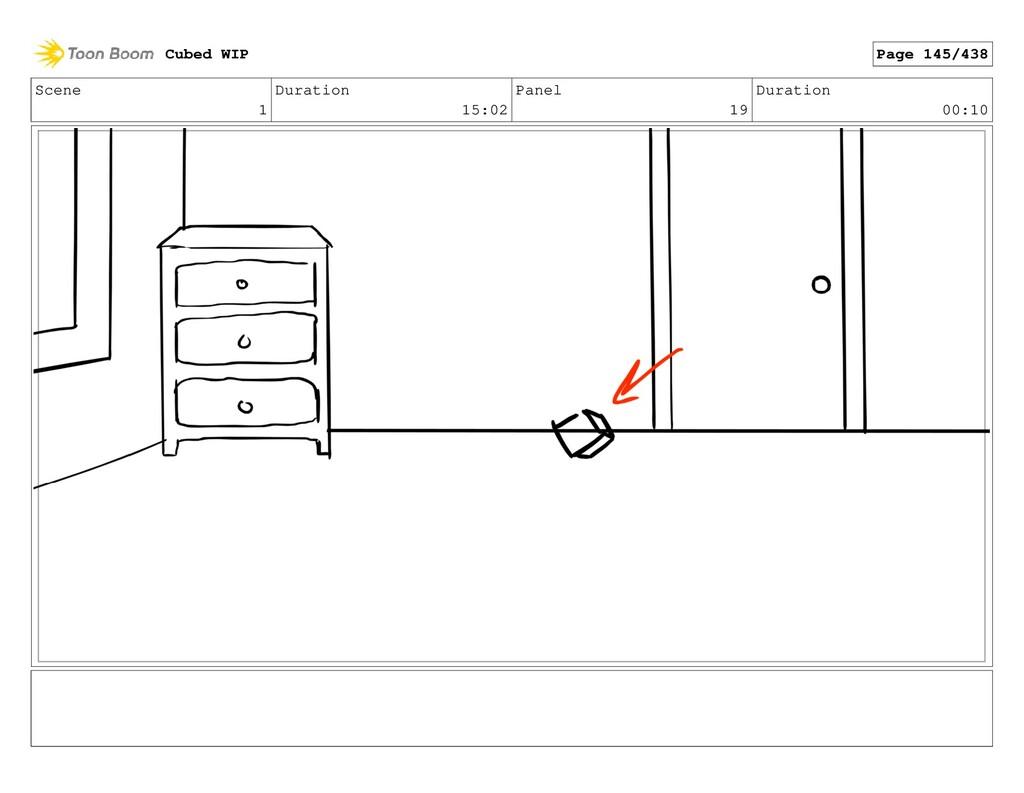 Scene 1 Duration 15:02 Panel 19 Duration 00:10 ...
