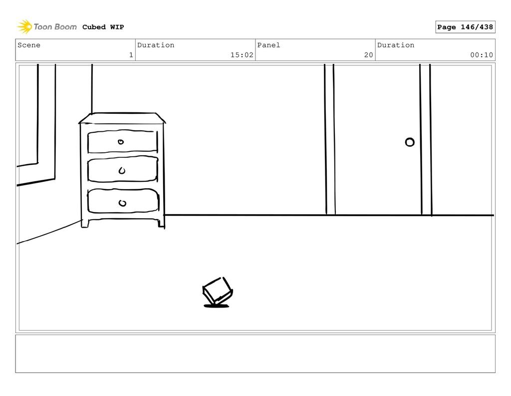Scene 1 Duration 15:02 Panel 20 Duration 00:10 ...