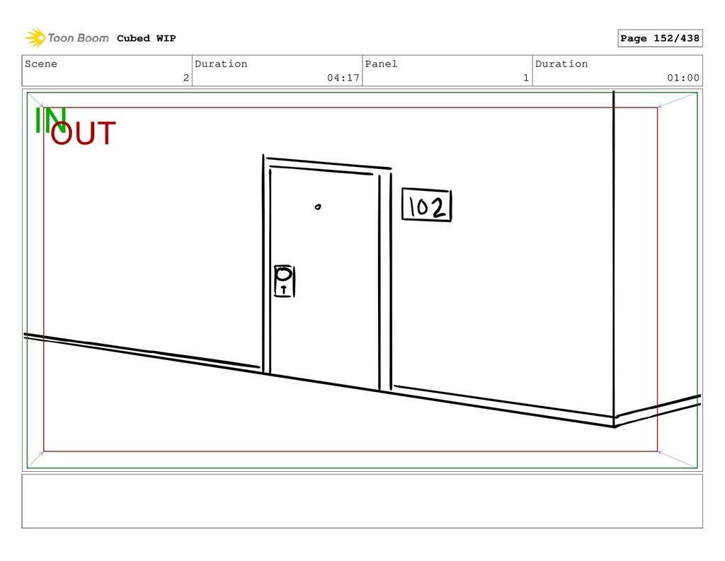 Scene 2 Duration 04:17 Panel 1 Duration 01:00 C...