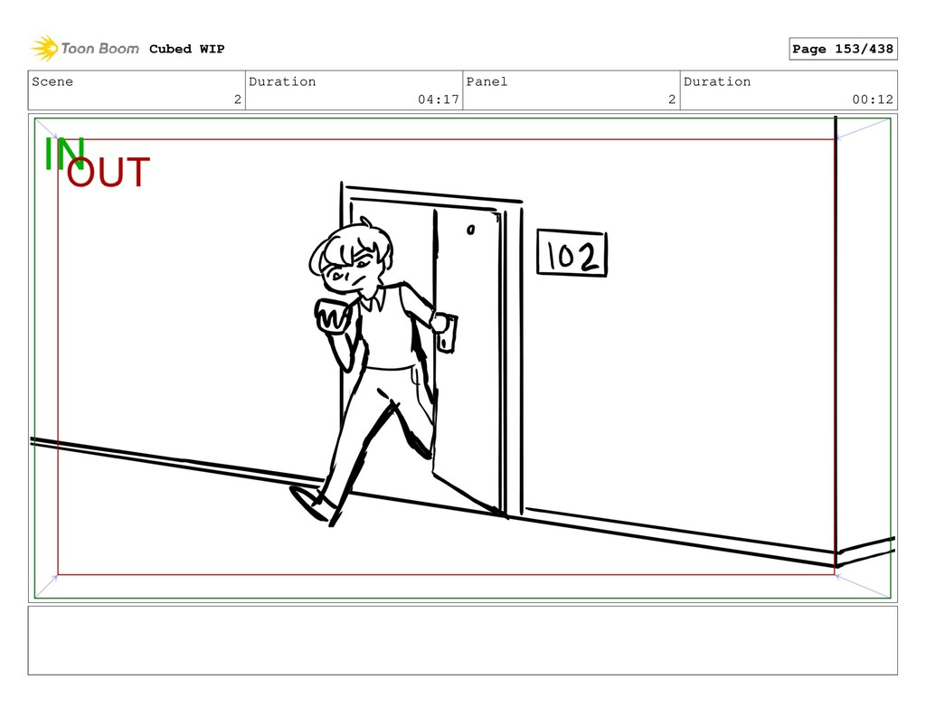 Scene 2 Duration 04:17 Panel 2 Duration 00:12 C...