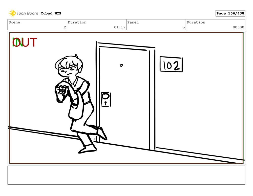 Scene 2 Duration 04:17 Panel 5 Duration 00:08 C...