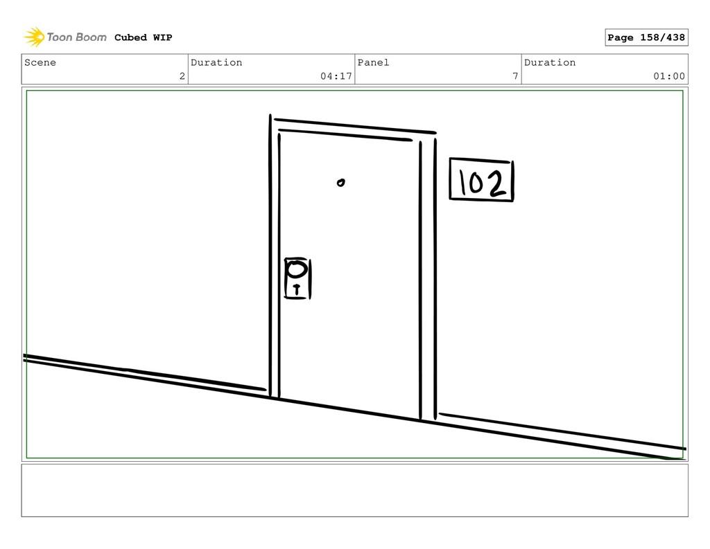 Scene 2 Duration 04:17 Panel 7 Duration 01:00 C...