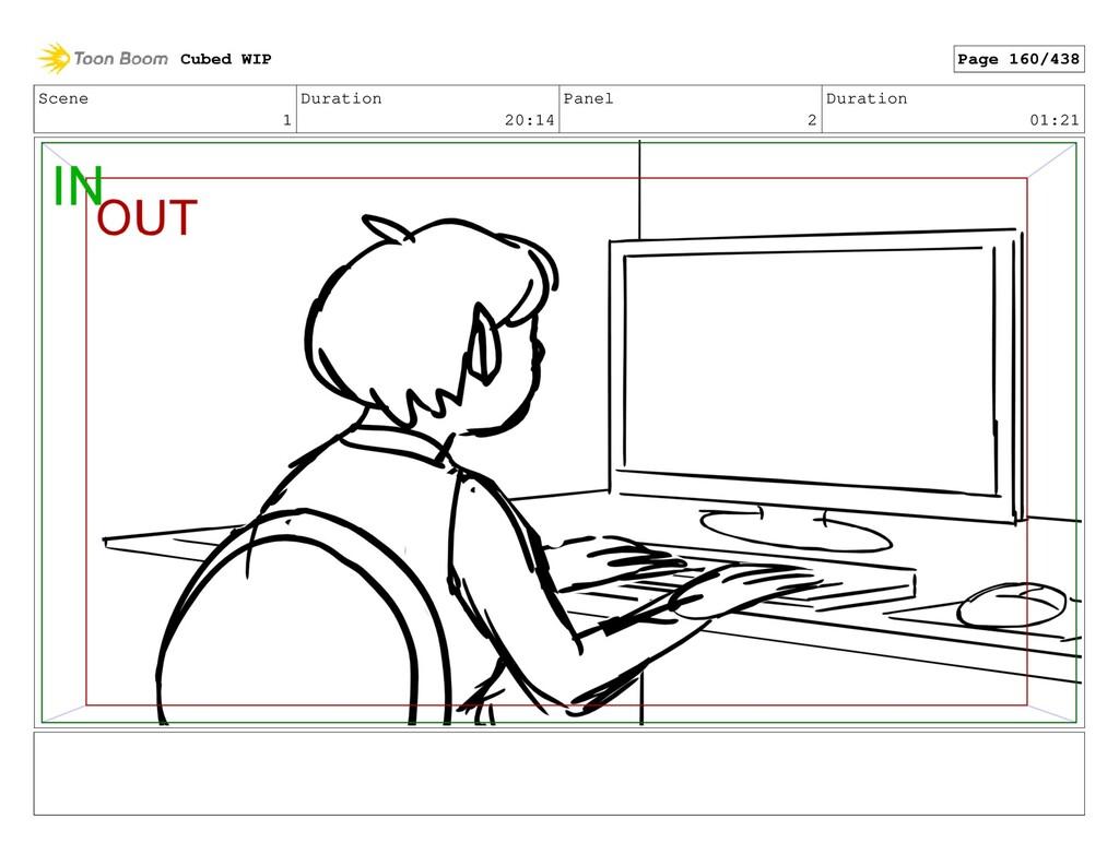 Scene 1 Duration 20:14 Panel 2 Duration 01:21 C...
