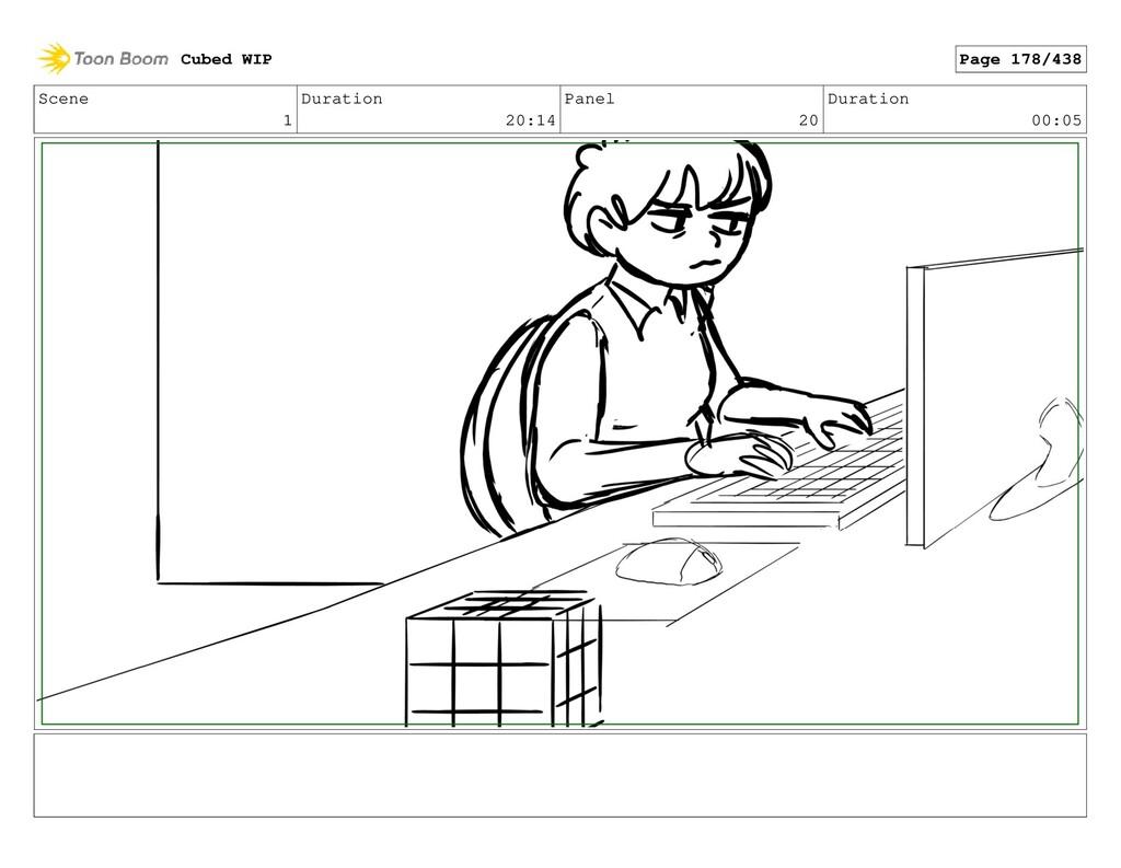 Scene 1 Duration 20:14 Panel 20 Duration 00:05 ...