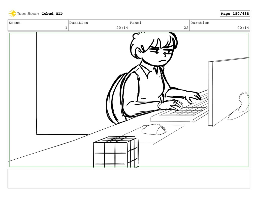 Scene 1 Duration 20:14 Panel 22 Duration 00:14 ...