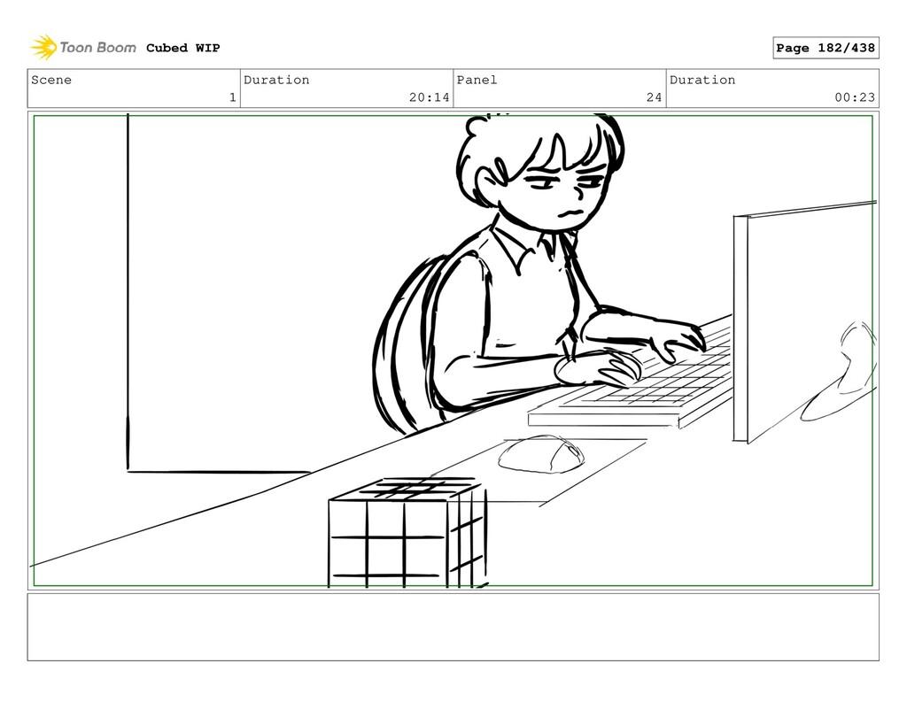 Scene 1 Duration 20:14 Panel 24 Duration 00:23 ...