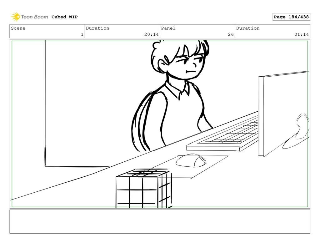 Scene 1 Duration 20:14 Panel 26 Duration 01:14 ...