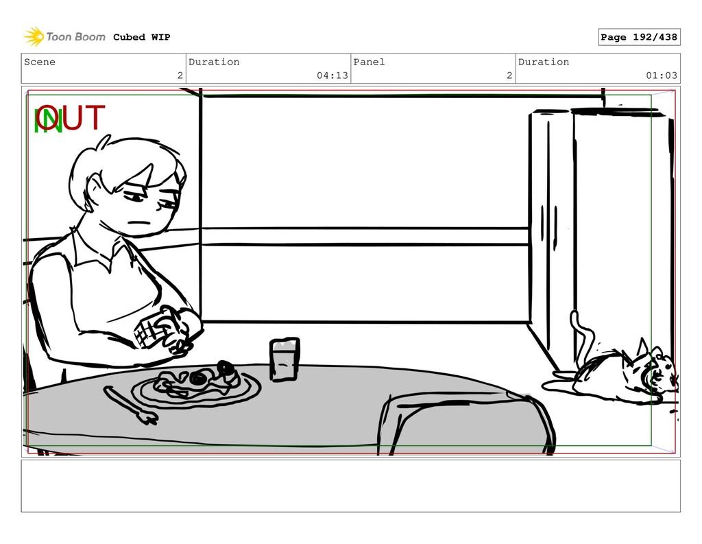 Scene 2 Duration 04:13 Panel 2 Duration 01:03 C...