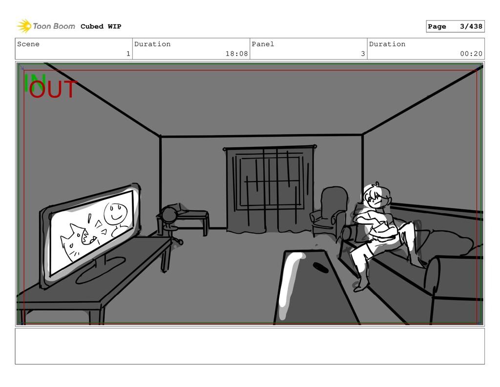 Scene 1 Duration 18:08 Panel 3 Duration 00:20 C...