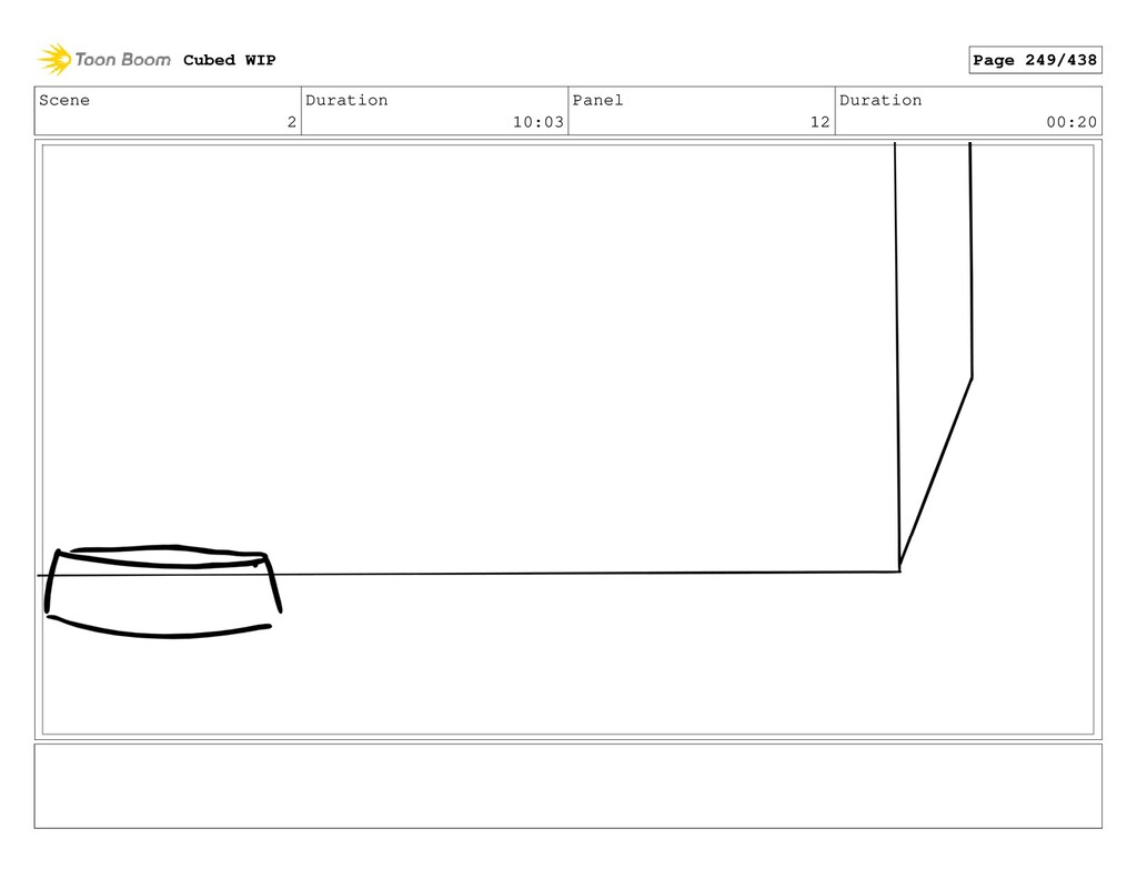 Scene 2 Duration 10:03 Panel 12 Duration 00:20 ...