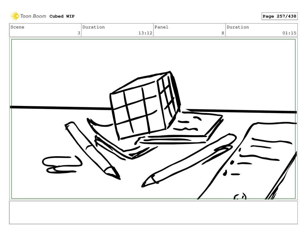 Scene 3 Duration 13:12 Panel 8 Duration 01:15 C...