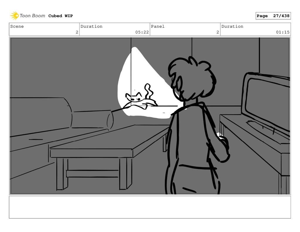 Scene 2 Duration 05:22 Panel 2 Duration 01:15 C...