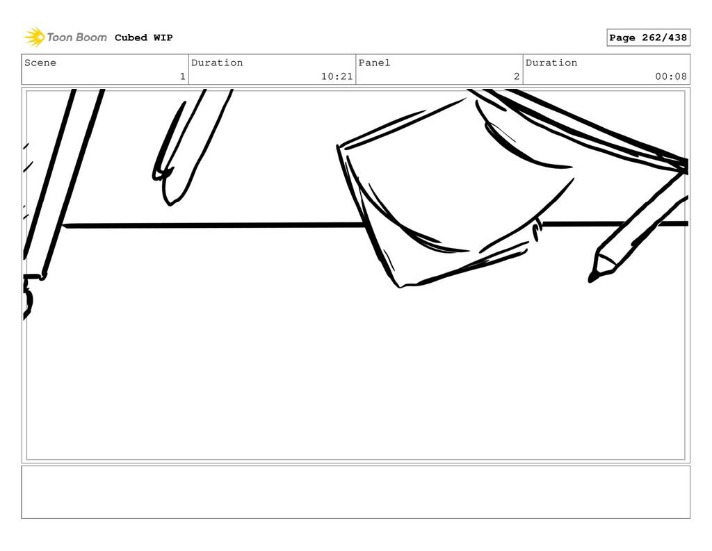 Scene 1 Duration 10:21 Panel 2 Duration 00:08 C...