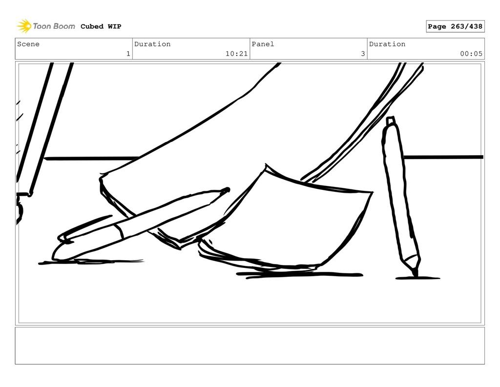 Scene 1 Duration 10:21 Panel 3 Duration 00:05 C...
