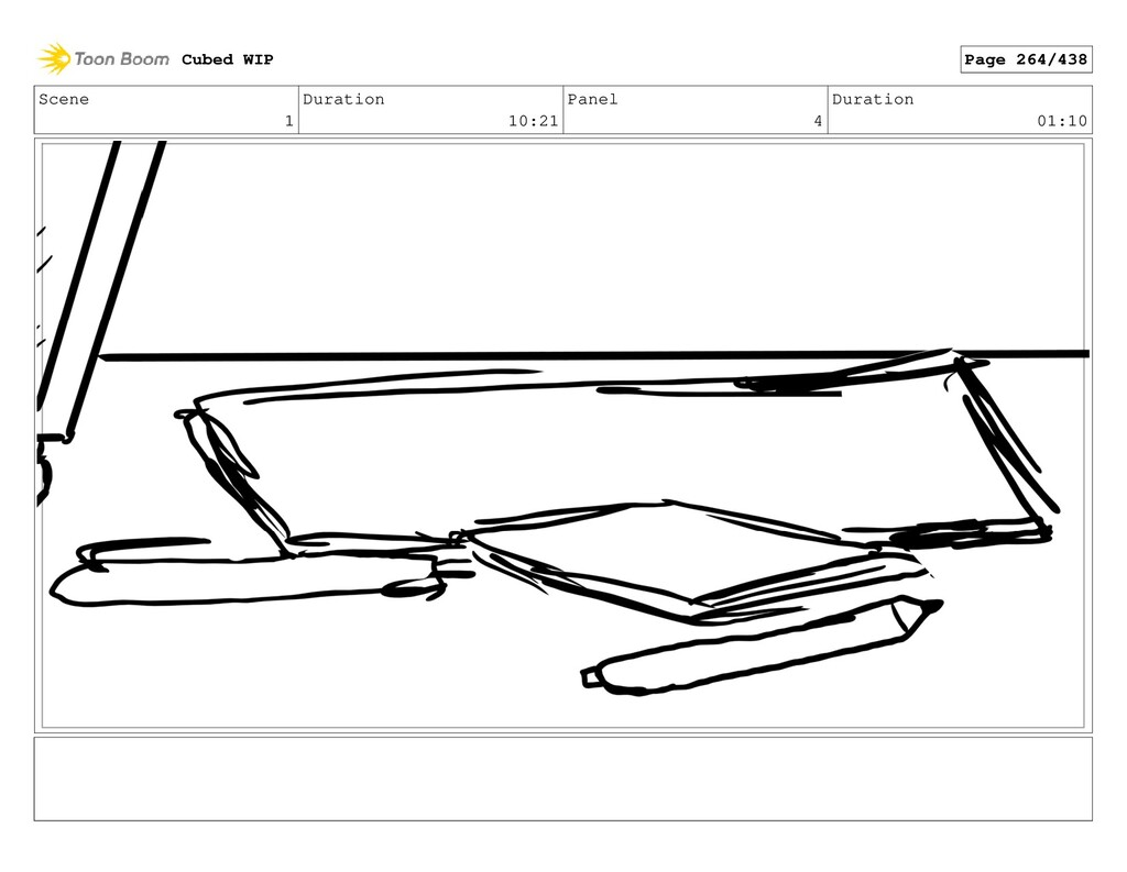 Scene 1 Duration 10:21 Panel 4 Duration 01:10 C...
