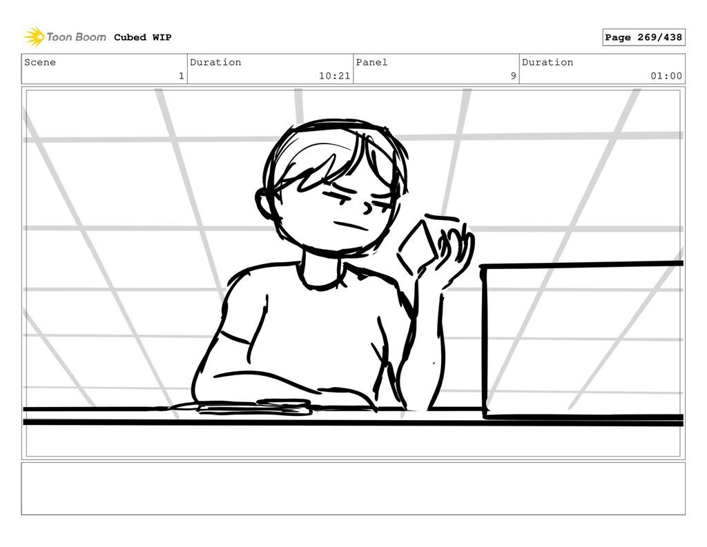 Scene 1 Duration 10:21 Panel 9 Duration 01:00 C...