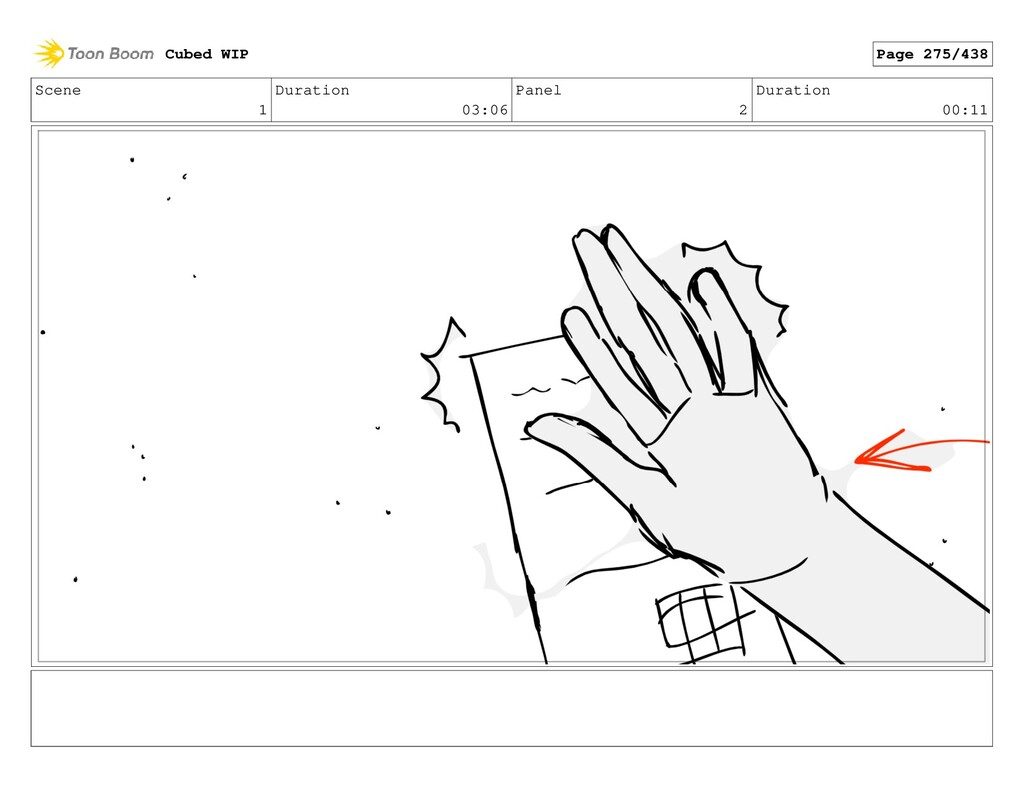 Scene 1 Duration 03:06 Panel 2 Duration 00:11 C...