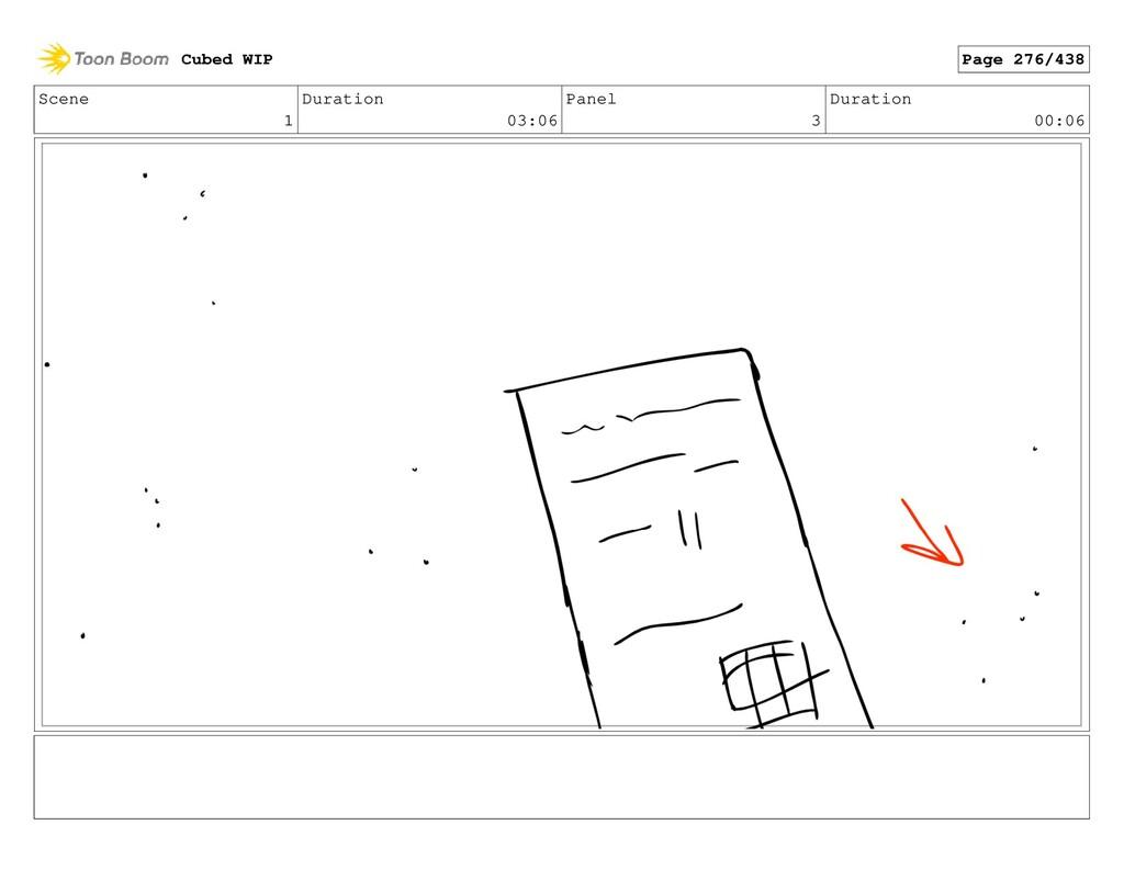 Scene 1 Duration 03:06 Panel 3 Duration 00:06 C...