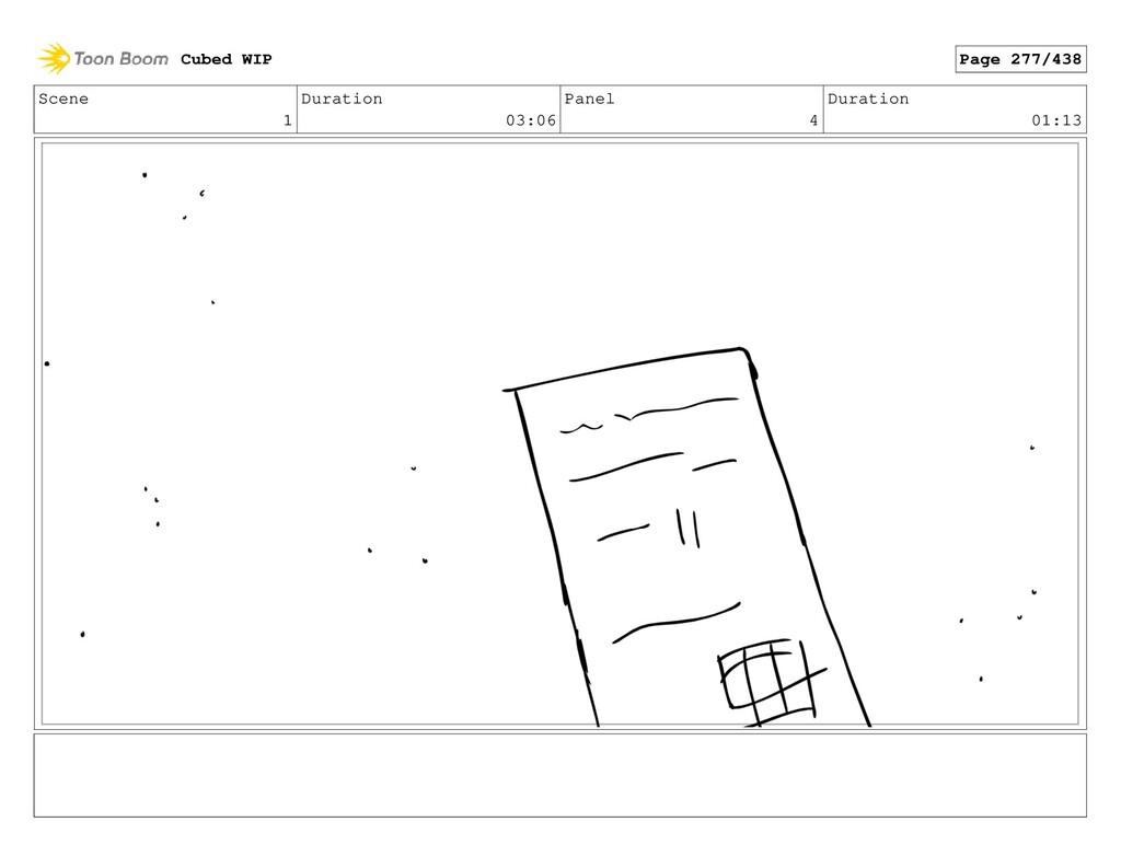 Scene 1 Duration 03:06 Panel 4 Duration 01:13 C...
