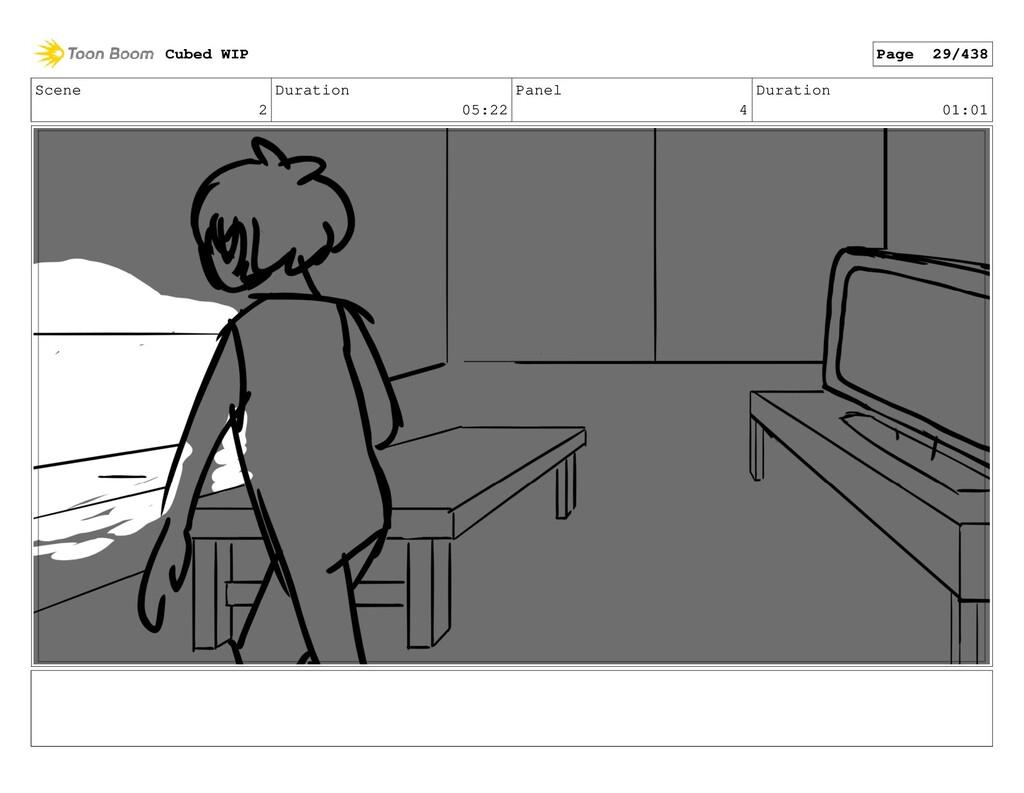 Scene 2 Duration 05:22 Panel 4 Duration 01:01 C...