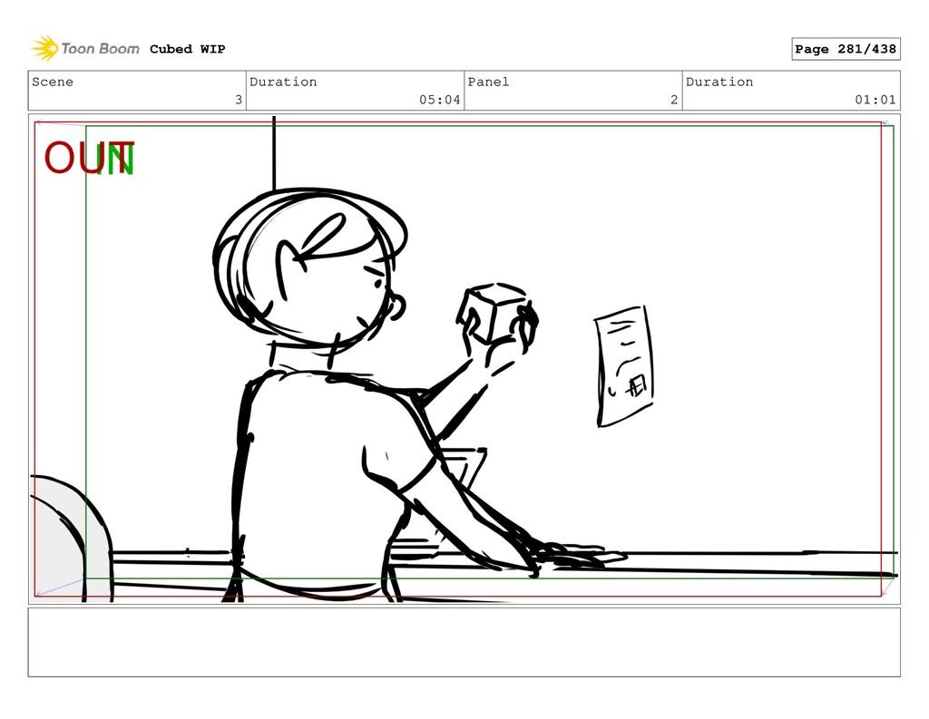 Scene 3 Duration 05:04 Panel 2 Duration 01:01 C...