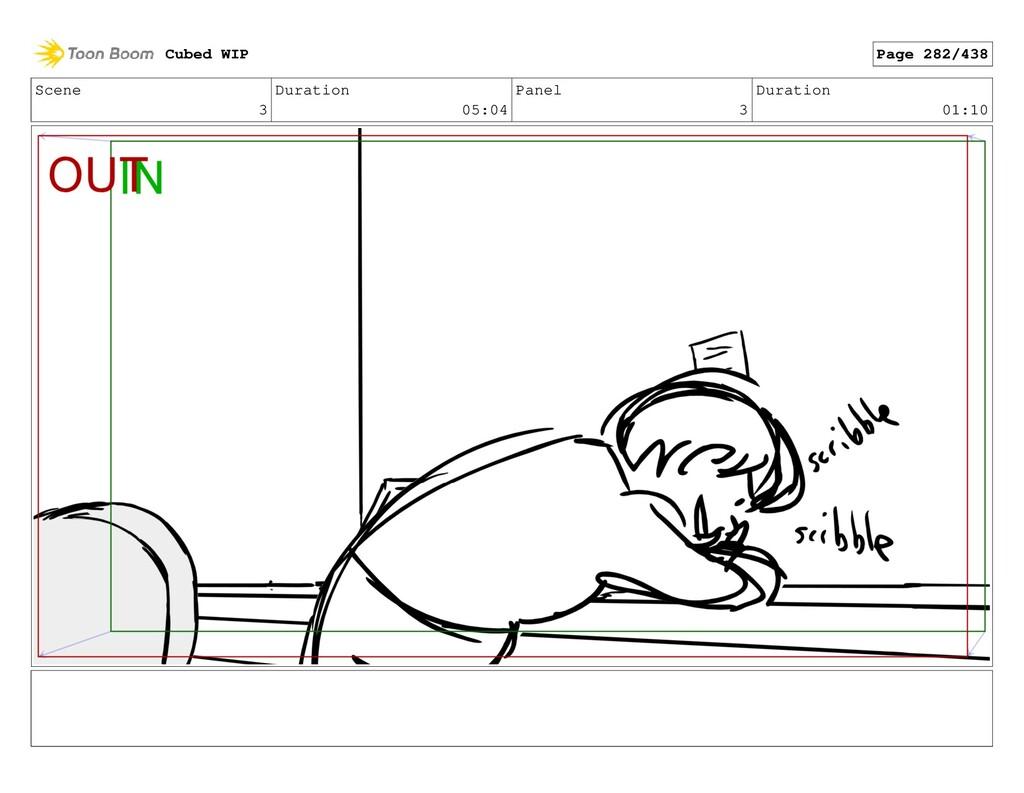 Scene 3 Duration 05:04 Panel 3 Duration 01:10 C...