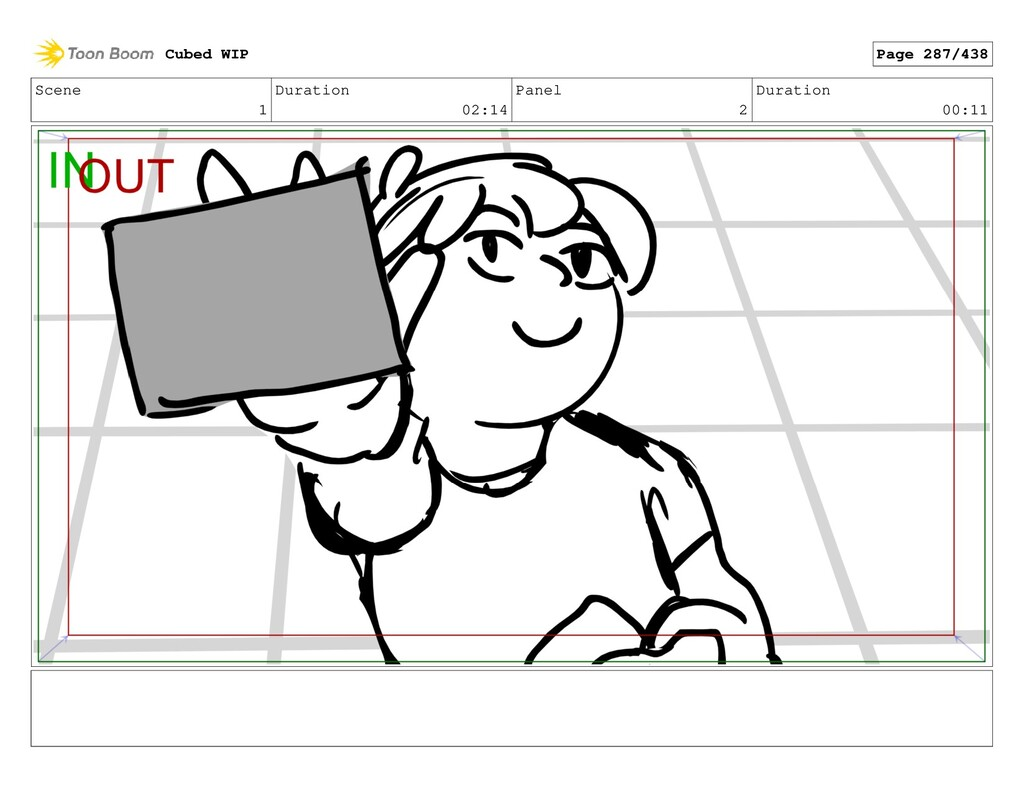 Scene 1 Duration 02:14 Panel 2 Duration 00:11 C...
