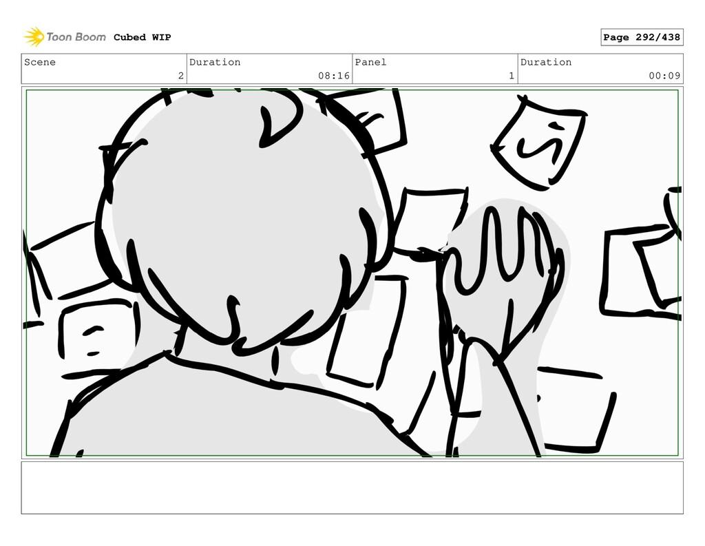 Scene 2 Duration 08:16 Panel 1 Duration 00:09 C...