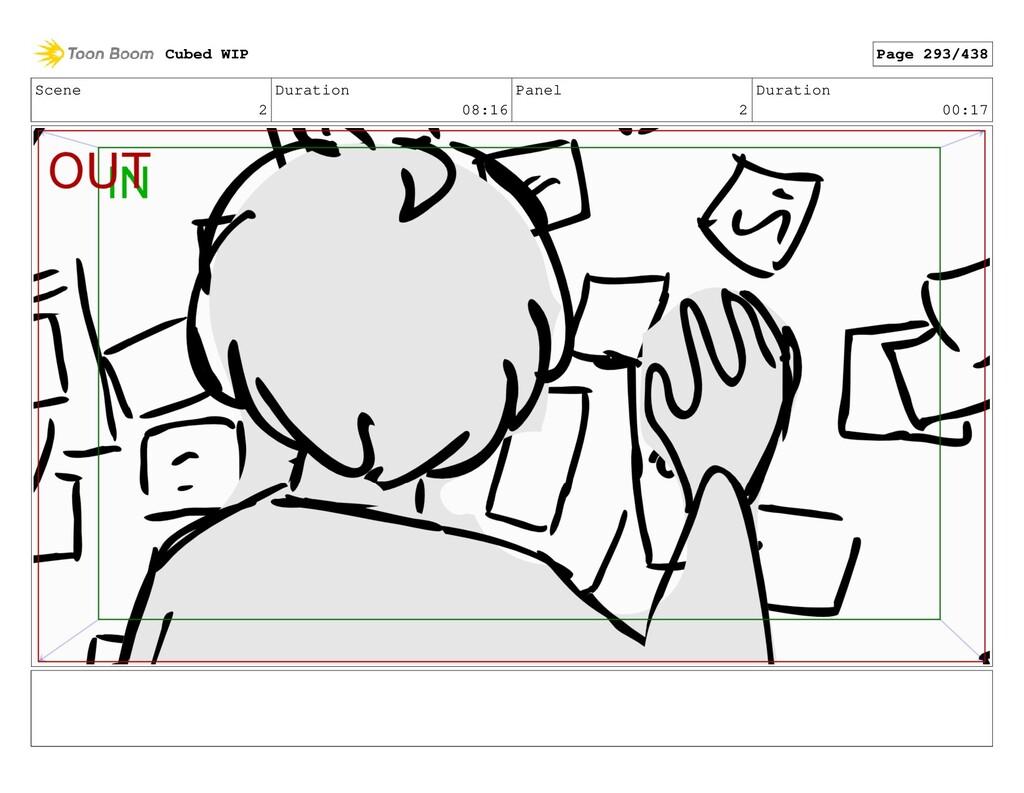 Scene 2 Duration 08:16 Panel 2 Duration 00:17 C...