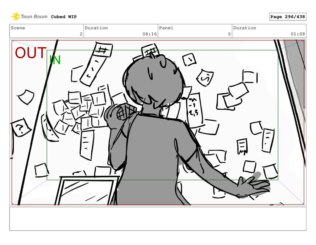 Scene 2 Duration 08:16 Panel 5 Duration 01:08 C...