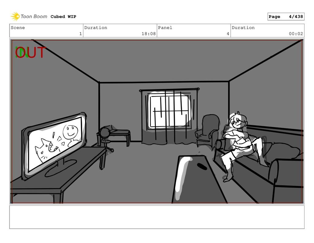 Scene 1 Duration 18:08 Panel 4 Duration 00:02 C...