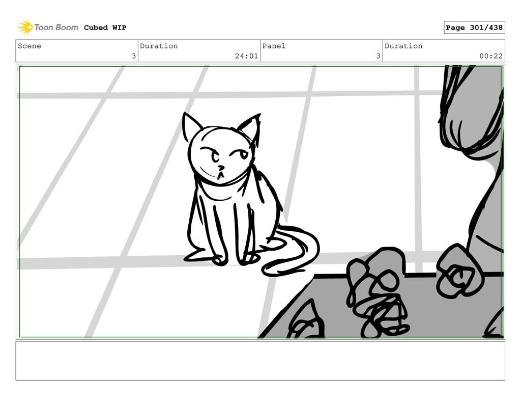 Scene 3 Duration 24:01 Panel 3 Duration 00:22 C...