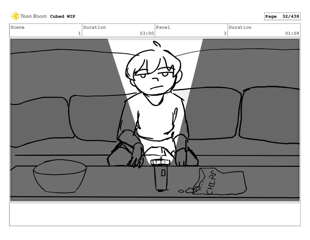 Scene 1 Duration 03:00 Panel 3 Duration 01:08 C...