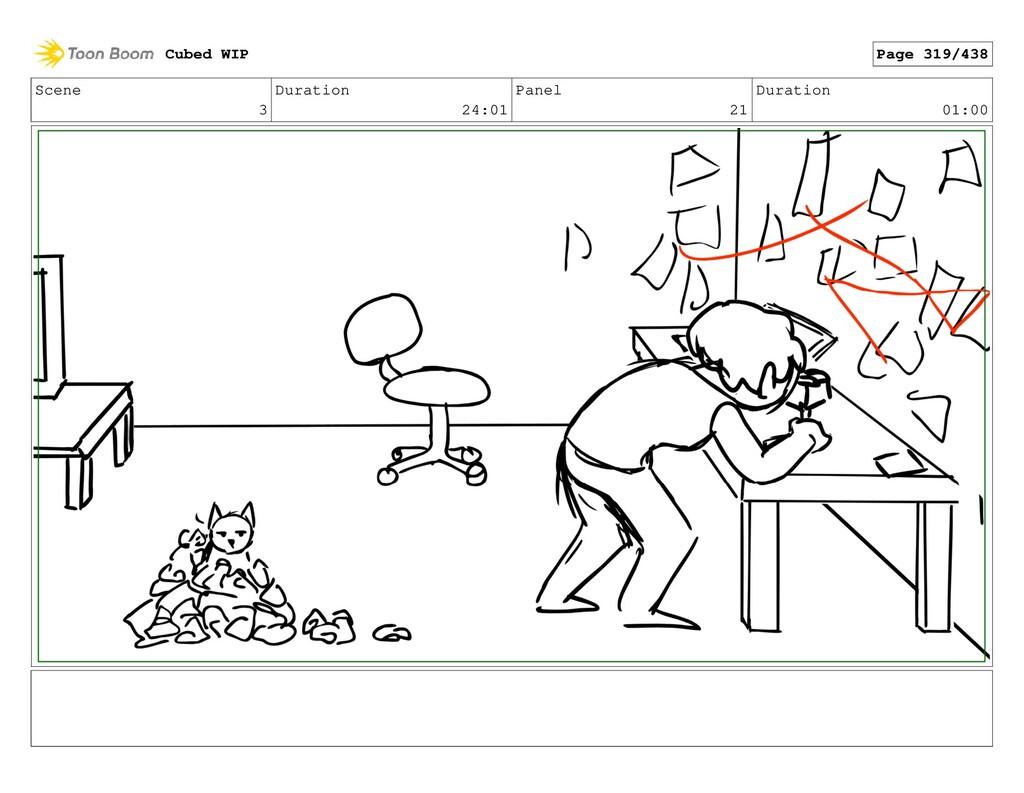 Scene 3 Duration 24:01 Panel 21 Duration 01:00 ...