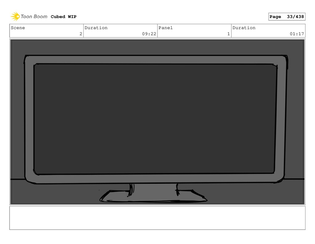 Scene 2 Duration 09:22 Panel 1 Duration 01:17 C...