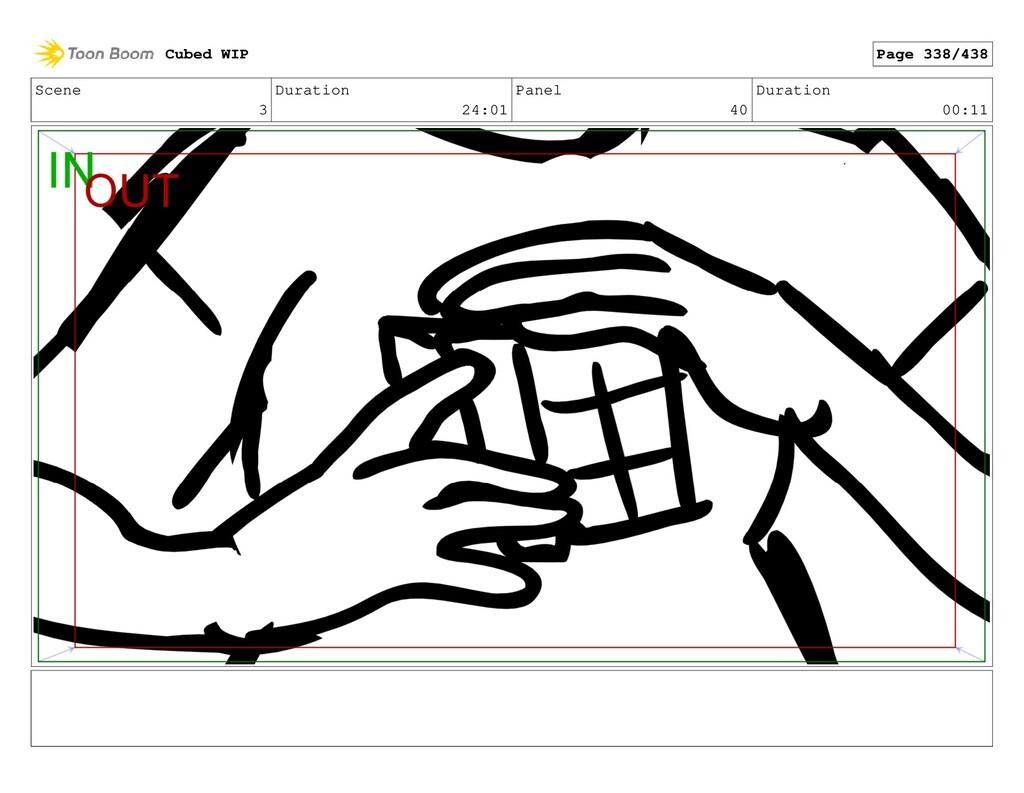 Scene 3 Duration 24:01 Panel 40 Duration 00:11 ...